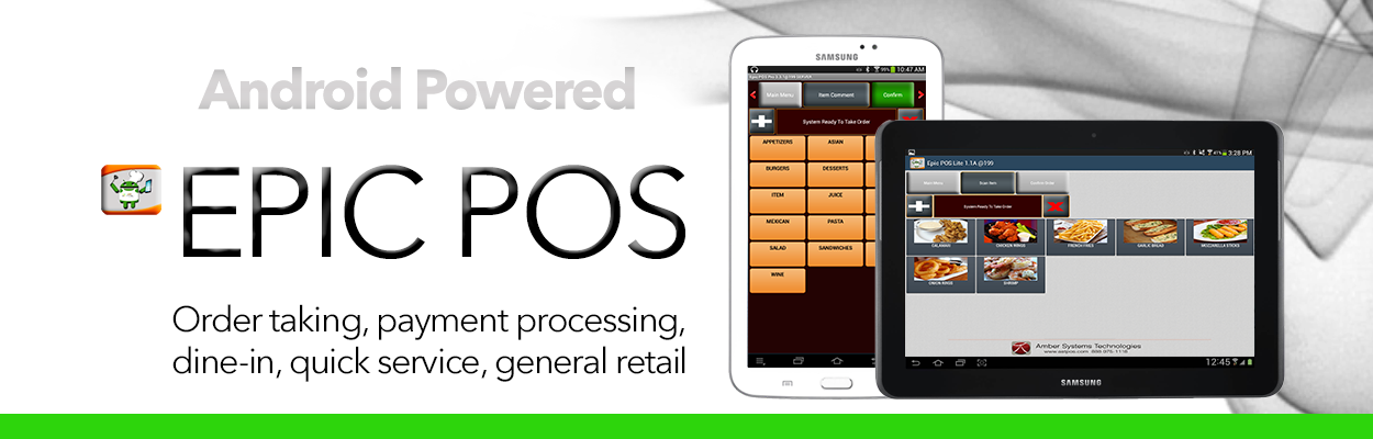 Emv Restaurant Pos System Linux From Amber Systems