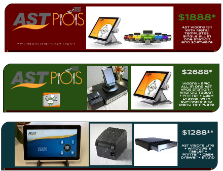 Windows 8 Tablet POS